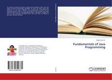 Portada del libro de Fundamentals of Java Programming