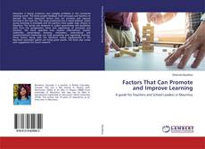 Borítókép a  Factors That Can Promote and Improve Learning - hoz