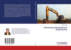 Bookcover of Elementary Geotechnical Engineering