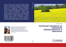 Bookcover of Селекция люцерны на кормовую продуктивность в Заволжье