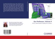 Bookcover of Our Professors, Volume 4