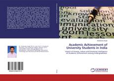 Bookcover of Academic Achievement of University Students in India