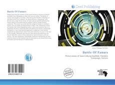 Bookcover of Battle Of Famars