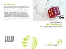 Bookcover of MATS University