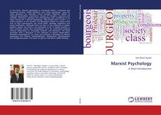 Bookcover of Marxist Psychology