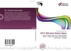 Portada del libro de 2011 Winston-Salem Open