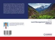 Bookcover of Land Management Issues In Pakistan