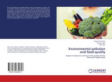 Bookcover of Environmental pollution and food quality