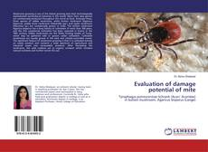 Bookcover of Evaluation of damage potential of mite