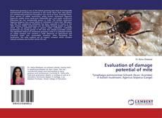 Copertina di Evaluation of damage potential of mite