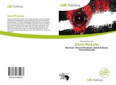 Bookcover of David Ricketts