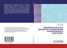 Зарубежный опыт развития и управления инновациями в кластерах kitap kapağı