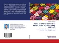 Copertina di Waste-to-energy conversion power plant: An algorithmic approach