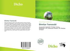 Bookcover of Dimitar Tsenovski
