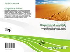 Bookcover of Georg Heinrich von Görtz