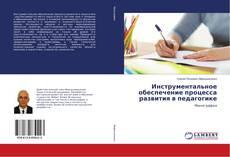 Обложка Инструментальное обеспечение процесса развития в педагогике