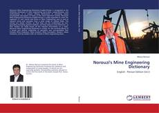 Norouzi's Mine Engineering Dictionary kitap kapağı