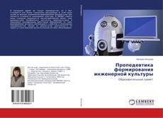 Bookcover of Пропедевтика формирования инженерной культуры