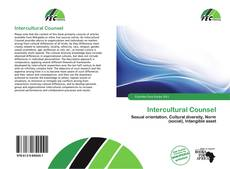 Couverture de Intercultural Counsel
