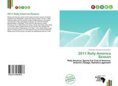 Bookcover of 2011 Rally America Season