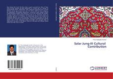 Bookcover of Salar Jung-III Cultural Contribution