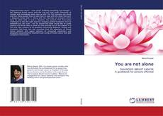 Bookcover of You are not alone