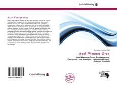 Couverture de Axel Wenner-Gren