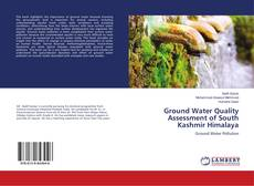 Buchcover von Ground Water Quality Assessment of South Kashmir Himalaya