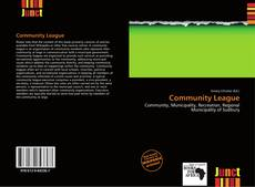 Bookcover of Community League