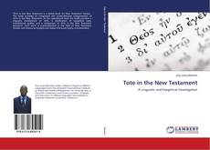 Bookcover of Tote in the New Testament