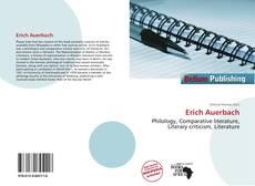 Buchcover von Erich Auerbach