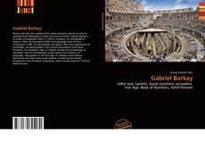 Gabriel Barkay kitap kapağı