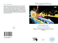 Larry Thrasher kitap kapağı