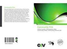 Bookcover of Community Film