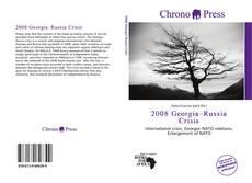 Buchcover von 2008 Georgia–Russia Crisis
