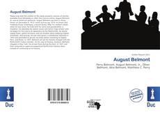 Buchcover von August Belmont
