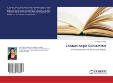 Bookcover of Contact Angle Goniometer