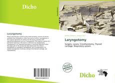 Portada del libro de Laryngotomy
