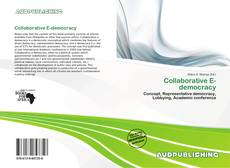 Bookcover of Collaborative E-democracy