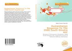 Buchcover von Humanitarian Response To The 2008 South Ossetia war