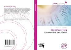 Bookcover of Economy of Iraq