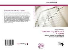 Couverture de Jonathan Hay (Harvard Project)