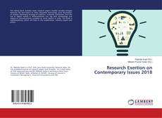 Bookcover of Research Exertion on Contemporary Issues 2018