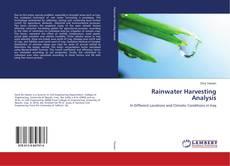 Bookcover of Rainwater Harvesting Analysis
