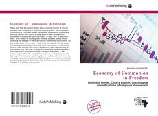 Bookcover of Economy of Communion in Freedom