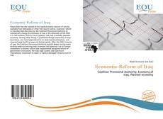 Bookcover of Economic Reform of Iraq