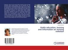 Обложка Public education, training and information on ionizing radiation
