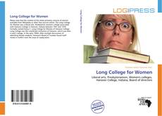 Обложка Long College for Women