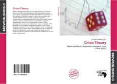 Couverture de Crisis Theory
