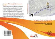 Couverture de Causes of the late-2000s Financial Crisis